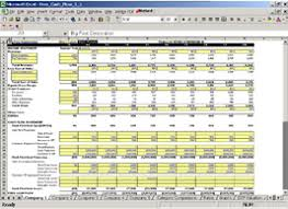 Discounted Flow Analysis Excel Template Flow Valuation Model For Excel Financial Edu Model Advisor