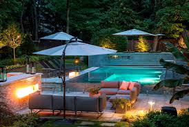 pool small backyard home outdoor decoration