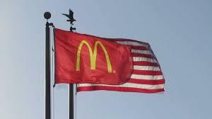 Flying The Flag Upside Down Mcdonald U0027s Flag U0026 The American Flag Yourtakes Youtube