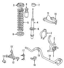 dodge charger oem parts parts com dodge charger suspension components oem parts