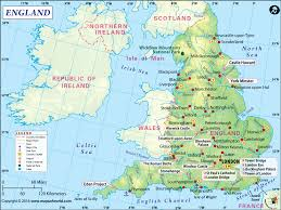 maps of map detailed map of uk