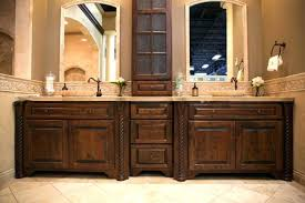 Cabinets Bathroom Vanity Bathroom Vanity And Linen Cabinet All Natural Edge Cedar Panels
