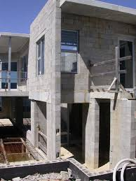 how to build a concrete block house wall construction