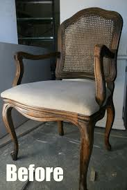 How To Upholster Dining Room Chairs by Pneumatic Addict How To Upholster A Caned Back Chair Tutorial