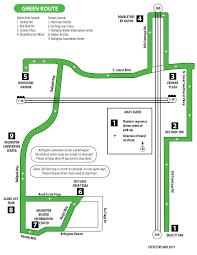 Green Line Map Green Line Arlington Trolley