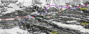 Mt Everest Map Everest Bodies Map