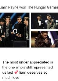 The Hunger Games Memes - liam payne won the hunger games the most under appreciated is the