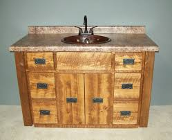 Barn Board Bathroom Vanity Log Bathroom Vanities Rustic Cabin Bathroom Vanities