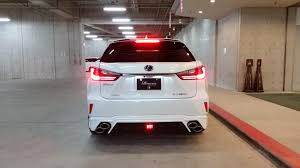 lexus gs 450h exhaust lexus rx f sport with rowen body kit has quad exhaust autoevolution