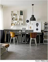 bureau gris blanc idee deco bureau gris taupe et blanc esprit vintage