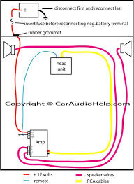 how to install a car amp wiring diagram stuff pinterest cars