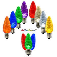 c9 led commercial grade minleon retrofit bulb pack 25