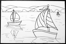 space and claude monet sailboat art lesson create art with me