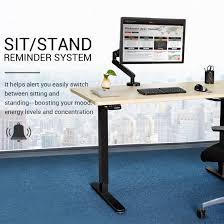 Electric Height Adjustable Desk Frame by Standing Desk Frames Flexispot