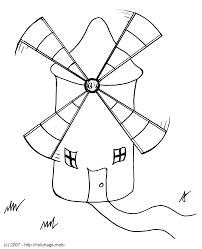 comment dessiner un moulin a vent ecole pinterest comment