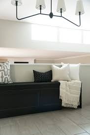 budget storage banquette bench diy room for tuesday blog this is a really fantastic option if you re on a budget and need seating and storage rather than paying a contractor to build a custom window seat or