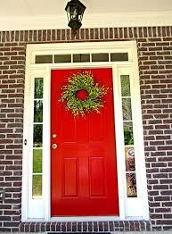 front door colors with red brick door u0026 siding color pinterest