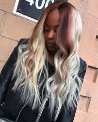 middle parting weave hairstyles sew hot 40 gorgeous sew in hairstyles