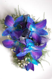 blue orchid corsage prom flowers add some zing to your prom flowers