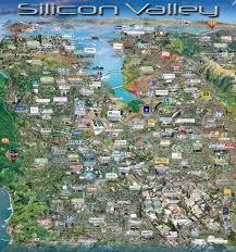 San Jose California Map San Jose Map Collection