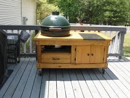 Green Egg Table by Big Green Egg Table By Skylark53 Lumberjocks Com Woodworking
