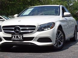 car mercedes 2016 2016 used mercedes benz c class 4dr sedan c 300 rwd at alm roswell