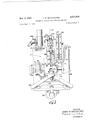 patent us2811876 automatic tapping and drilling machine google