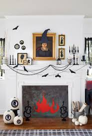 hallwoeen 35 fall mantel decorating ideas halloween mantel decorations