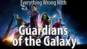 everything wrong with guardians of the galaxy youtube