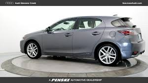 lexus ct 200h hatchback used 2016 lexus ct 200h for sale in san jose ca serving