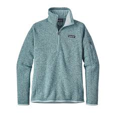 patagonia women u0027s better sweater quarter zip fleece
