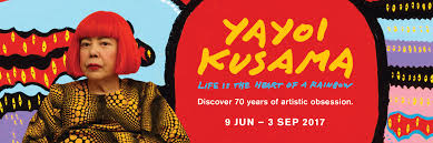 yayoi kusama life is the heart of a rainbow national gallery