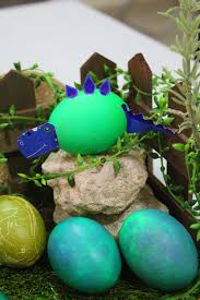 dinosaur easter eggs creative easter eggs decoration dinosaurs land diy marmite et