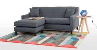 Corner Sofa Halston Corner Sofa Charcoal Weave Made Com