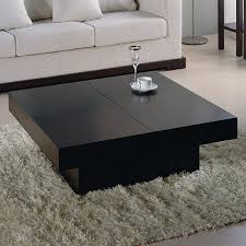 black square cocktail table black coffee tables beautiful black square coffee table 7