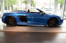 audi r8 blacked out the audi r8 spyder is a drop top supercar that u0027ll make the