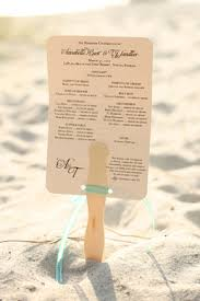 Fan Programs For Weddings Destination Wedding In Naples Florida