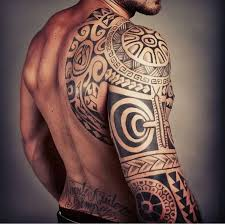polynesian sleeve tattoo of the beautiful man tattoo pinterest