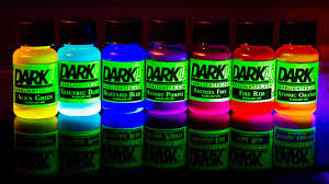 liquids that glow under black light glowing liquid neon uv blacklight reactive dye paint 661799608565