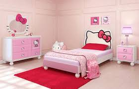 Bedroom Furniture For Girls Rooms Funiture Kids Room Furniture Ideas Using Pink Hello Kitty