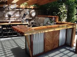 rustic outdoor kitchen ideas rustic outdoor kitchen and bar outdoor kitchen ideas corrugated