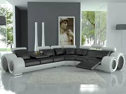 modern black and white leather sectional sofa modern italian design franco sectional sofa everything modern