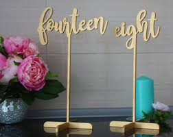 table numbers wedding wedding table numbers etsy