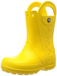 crocs light up boots crocs kids handle it rain boot crocs amazon ca shoes handbags