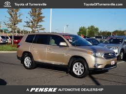 toyota highlander 2012 used 2012 used toyota highlander at honda of turnersville serving south