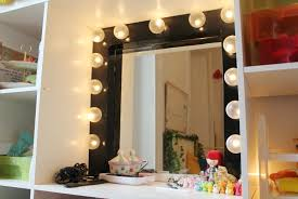 dressing room mirror with light bulbs home design ideas