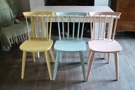 ercol style dining chairs and table shabby chic table and 3