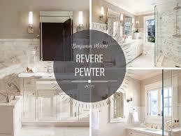 benjamin moore revere pewter bathroom