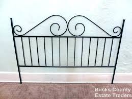 Rod Iron Headboard Wroght Iron Headboards Creative Of Headboard Wrought