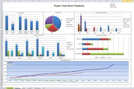 Simple Excel Project Management Template Excel Dashboard Templates Cyberuse